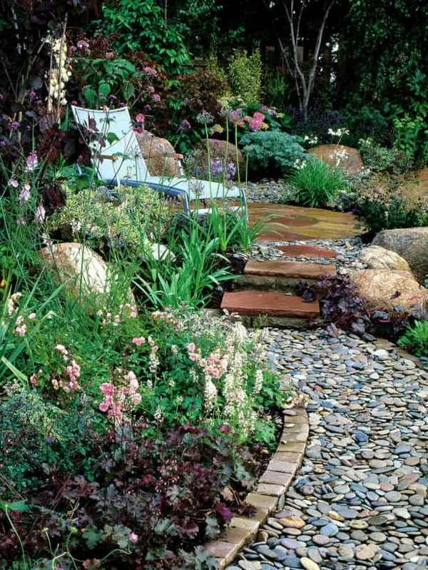 13 Inspiring Garden Design Ideas With Rocks