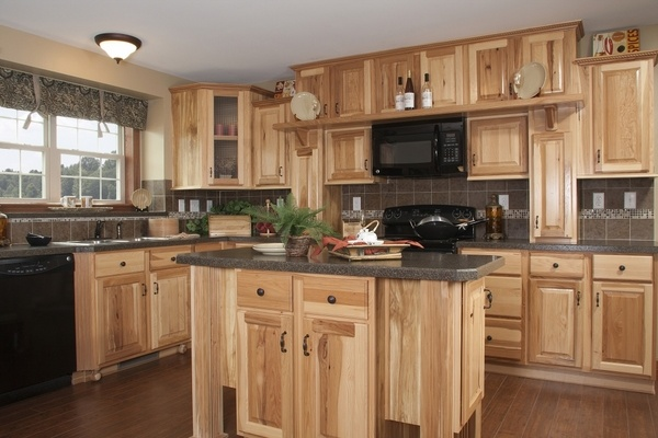rustic hickory kitchen cabinets cheap cabinet doors 40 ideas for naturally beautiful in the ...