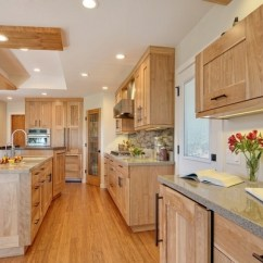Hickory Shaker Style Kitchen Cabinets Ninja Ultima System - Clean, Simple, Functional And Visually ...