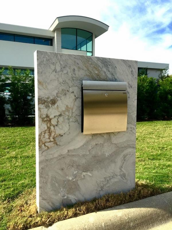 contemporary mailboxes modern
