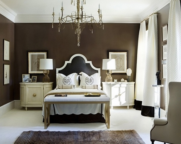 Upholstered headboard  a decorative accent in the bedroom