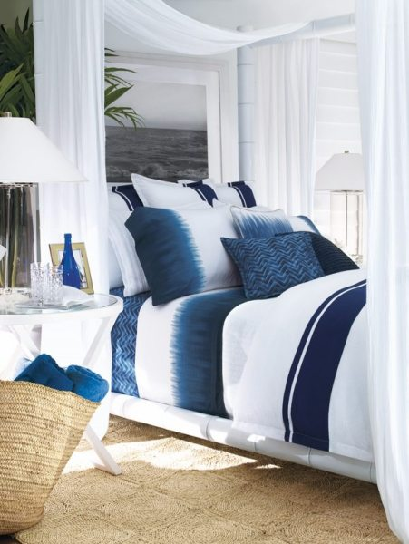 indigo navy blue bedroom Ralph Lauren bedding for and exclusive and sophisticated
