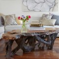 Table rustic furniture design recycled wood ideas modern living room