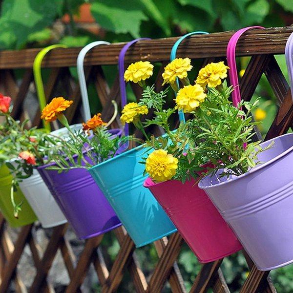 Hanging Flower Planter Ideas Flowers Ideas