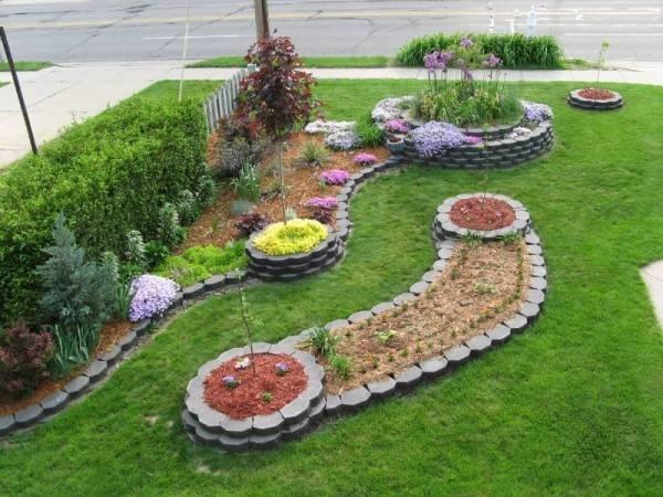 Flower Garden Designs Front Yard