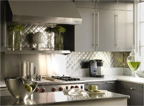 kitchen backsplash ideas stainless steel - kitchen design