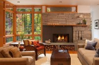 50 stone fireplace design ideas - the irresistible power ...