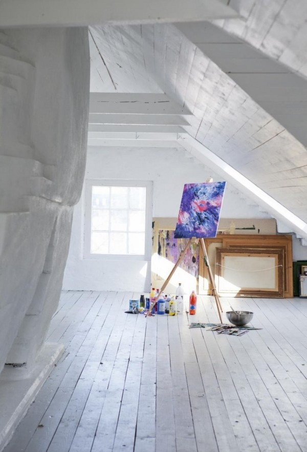 Home art studio ideas  an opportunity to break the rules