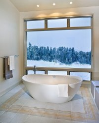 Contemporary freestanding bathtub ideas with elegant design