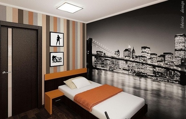 Teen Bedroom Wall Decoration Ideas Cool Photo Wallpapers