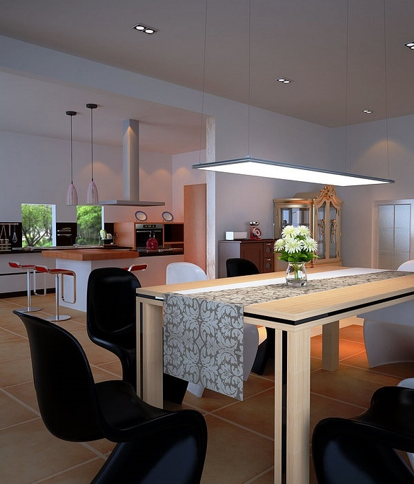 LED panel light fixtures  Modern and efficient home lighting ideas