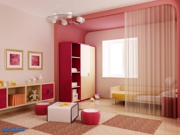 Room Divider Curtain Kids Bedroom Design Ideas