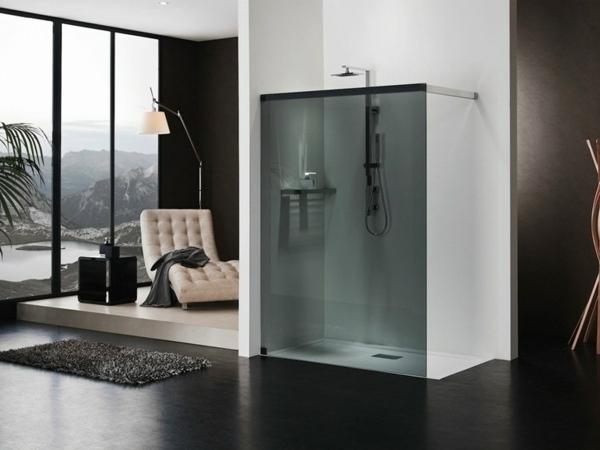 baño minimalista de vidrio ideas de diseño caminar en ideas de la ducha cabina de ducha