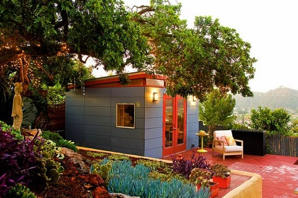 Modern Shed Ideas – Elegant Home Office Or A Cozy Garden Retreat