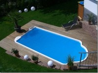 Small inground pools  inspiring ideas for small gardens ...