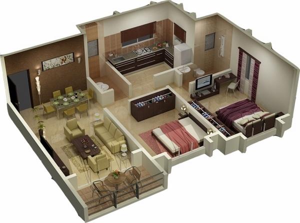 19 House Design Ideas Floor Plans 3d Floor Plan Archives