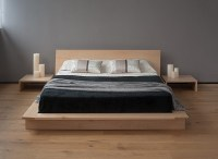 Japanese style bed design ideas in contemporary bedroom ...