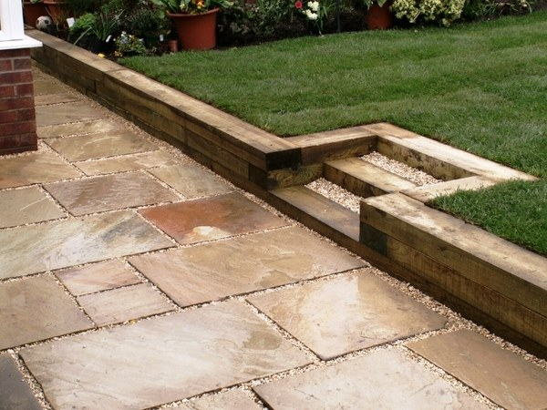 Wooden Garden Sleepers – Yes Or No To Railway Sleepers In The