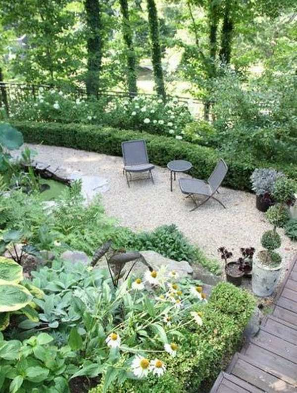 patio landscape design cost effective