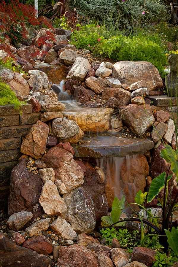 pondless waterfall design ideas