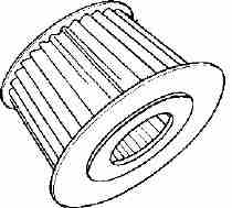 Air Filter For Morris Minor 948 And 1098cc Engines