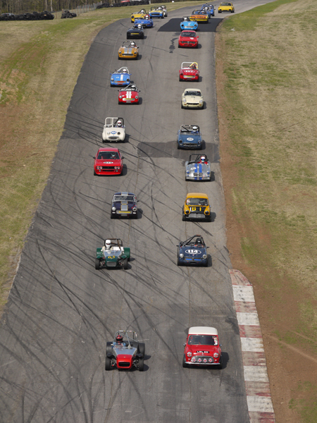 The Pack at Hallet Raceway CVAR - Mini Mania Inc.