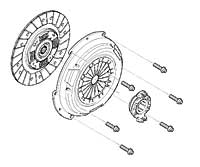 Mini Cooper Clutch Kit Oem Gen2 R55-r61 Non-s