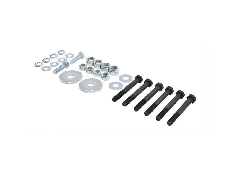 Austin Mini Rear Subframe Bolt Kit Less Bushes And
