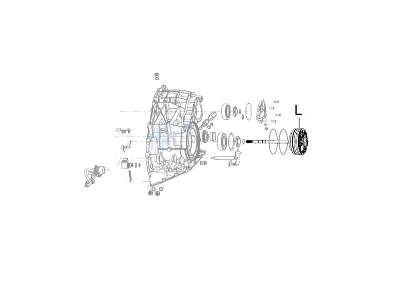 Mini Cooper Cvt Transmission Pump Assembly Gen1 R5