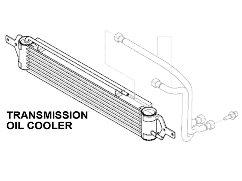Mini Cooper Transmission Oil Cooler Value Line