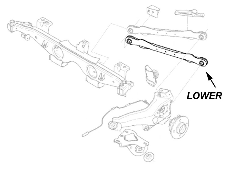 Rear Control Arm Lower R50 R52 R53 R55 R56 R57 R58