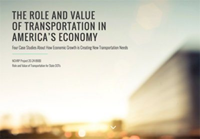 transportation website Policy Videos Showcase Transportation in Americas Economy %page