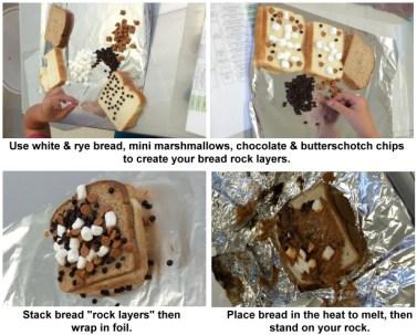 Bread Rocks Experiment Steps
