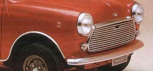 Mascherina Innocenti Mini Cooper Mk3