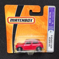 Matchbox Austin Mini Cooper S scala 1/60