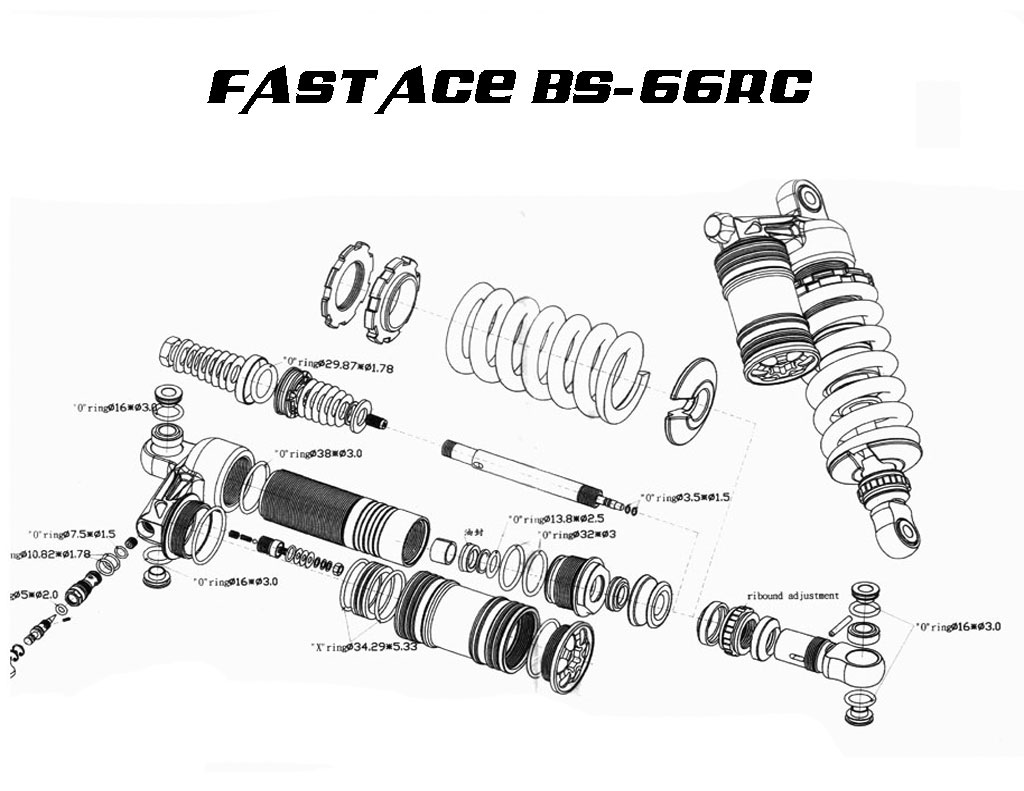 Rebuild Fast Ace Bs 66rc Shock