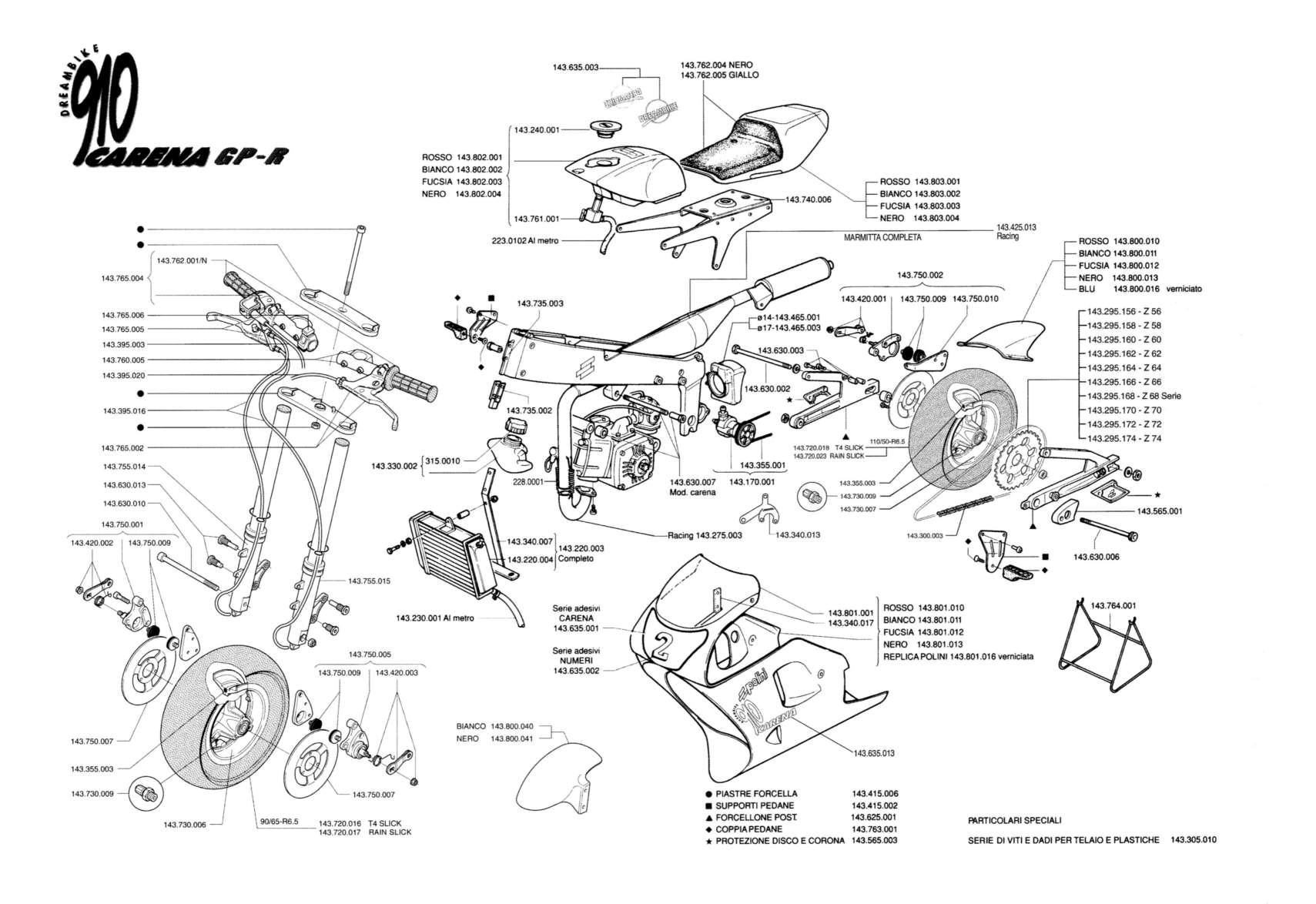 esquema motor polini