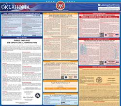 printable 2021 oklahoma labor law posters