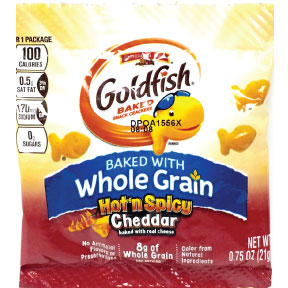 PepperidgeFarm Goldfish Flavor Blasted extreme Hot n