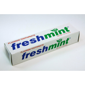 Freshmint Toothpaste  15 oz tube in a box  Travel Size