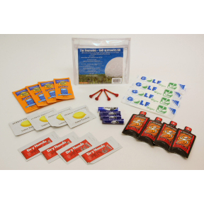 The Foursome  Golf Accessories Kit  Travel Size