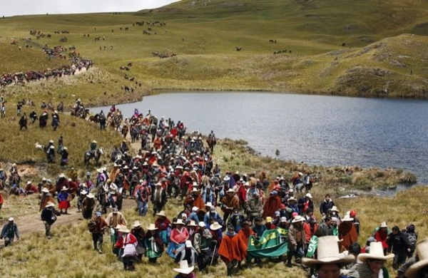 Main opponent of Newmont's gold project in Peru in prison