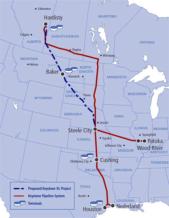 Trump greenlights Keystone XL and Dakota Access pipelines