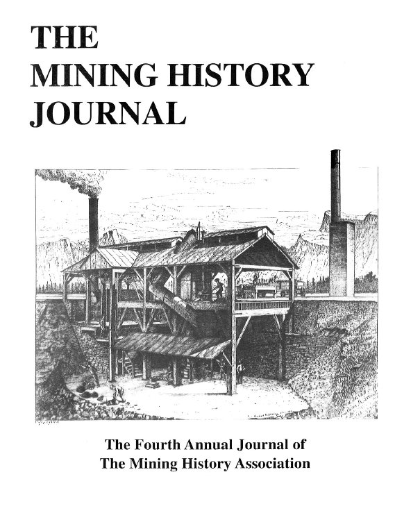 Mining History Association Journal