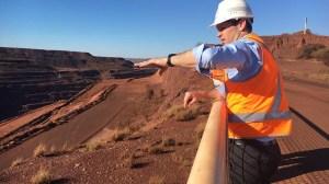 Senator Matthew Canavan mine