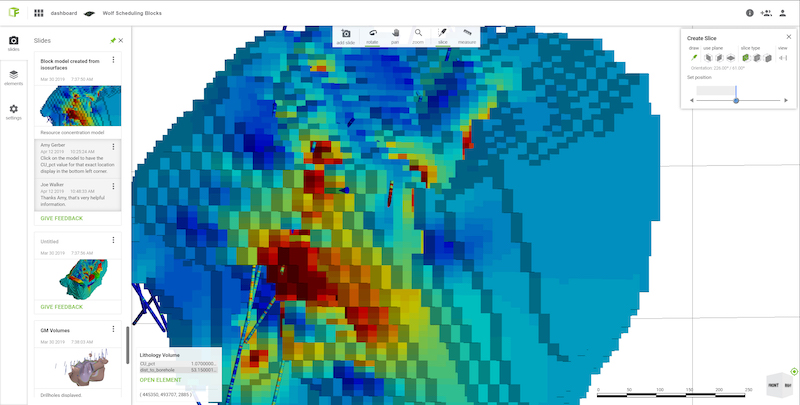 Sequent geological modelling