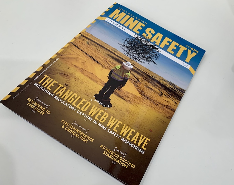 Australasian mine safety journal