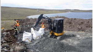 Naujaat diamond project in Nunavut, Canada