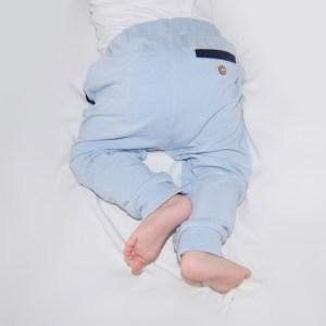 Lyseblå bukse