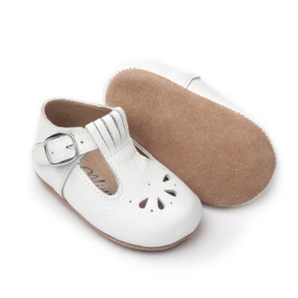 Dråpe Baby hvit